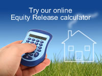Equity Release, Home Reversion Calculator for over 55s